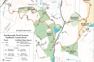 Bluff Head Trail Map
