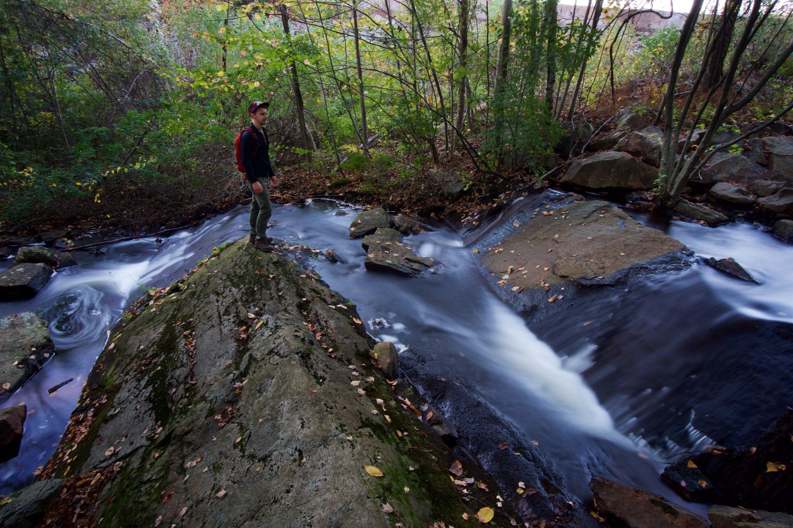 Cascade at Risley Pond