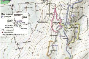 Case Mountain Trail Map