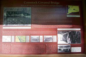 Comstock Bridge Info Board
