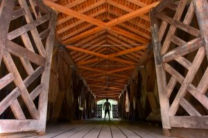 Comstock Bridge Inside