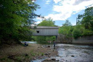 Comstock Bridge Outside