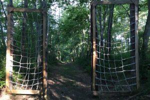 Giddings Park Webbed Wall