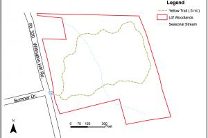 Lof Woodlands Trail Map