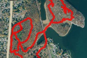 Mamacoke Island Trail Map