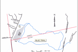 Risley Pond Map