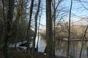 River trail at Sugar Brook
