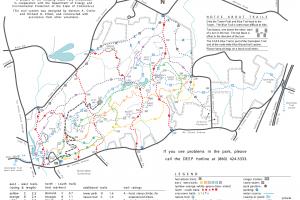 Sleeping Giant Trail Map