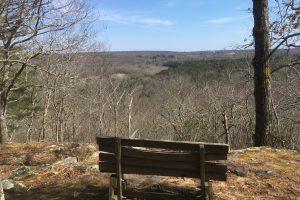 Sprague Overlook in Spring