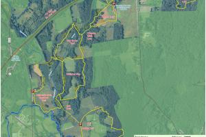 Bafflin Sanctuary Trail Map