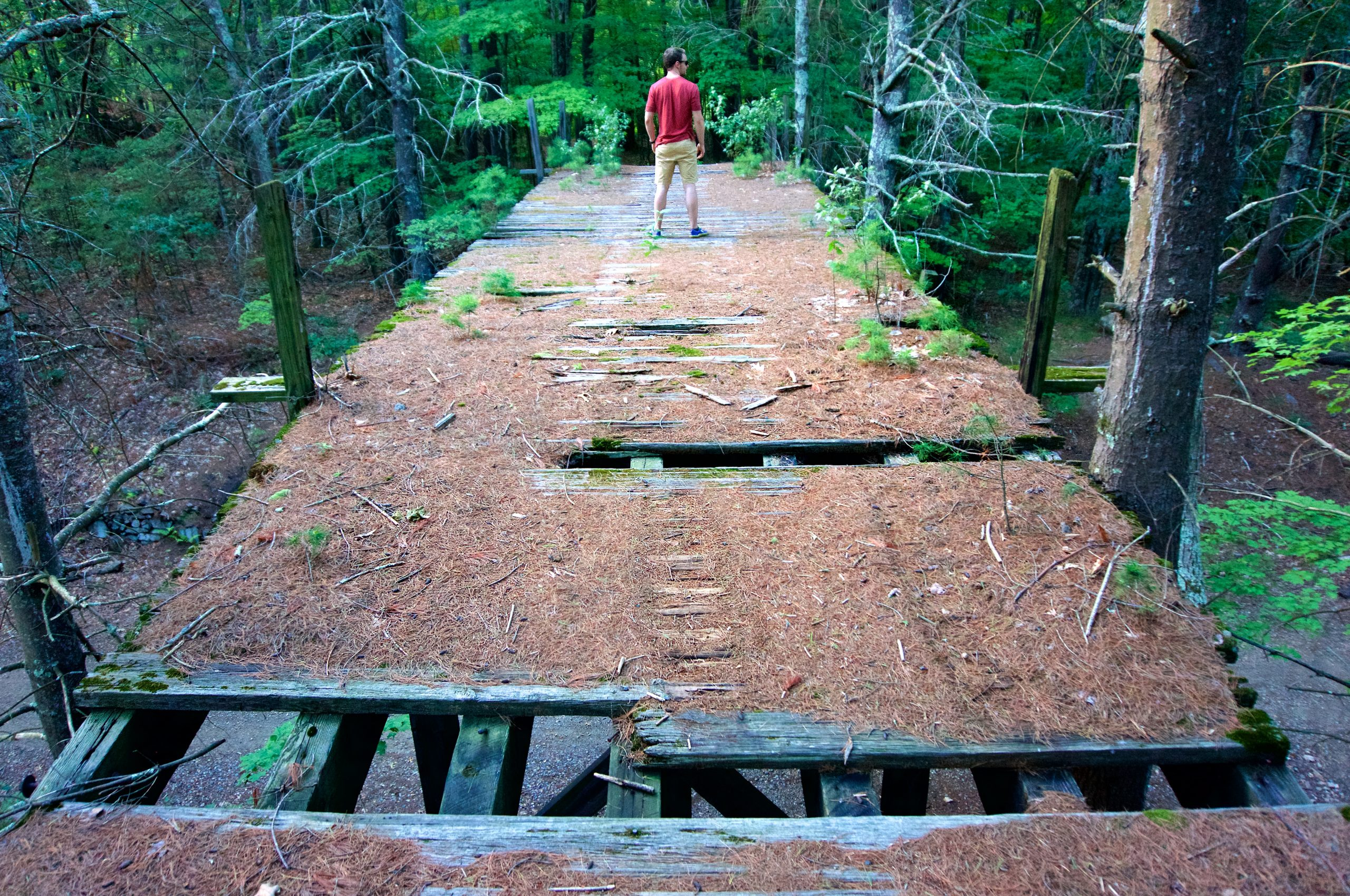 Bridge Over Air Line Trail