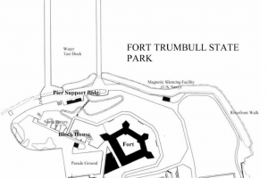 Fort Trumbull Park Map