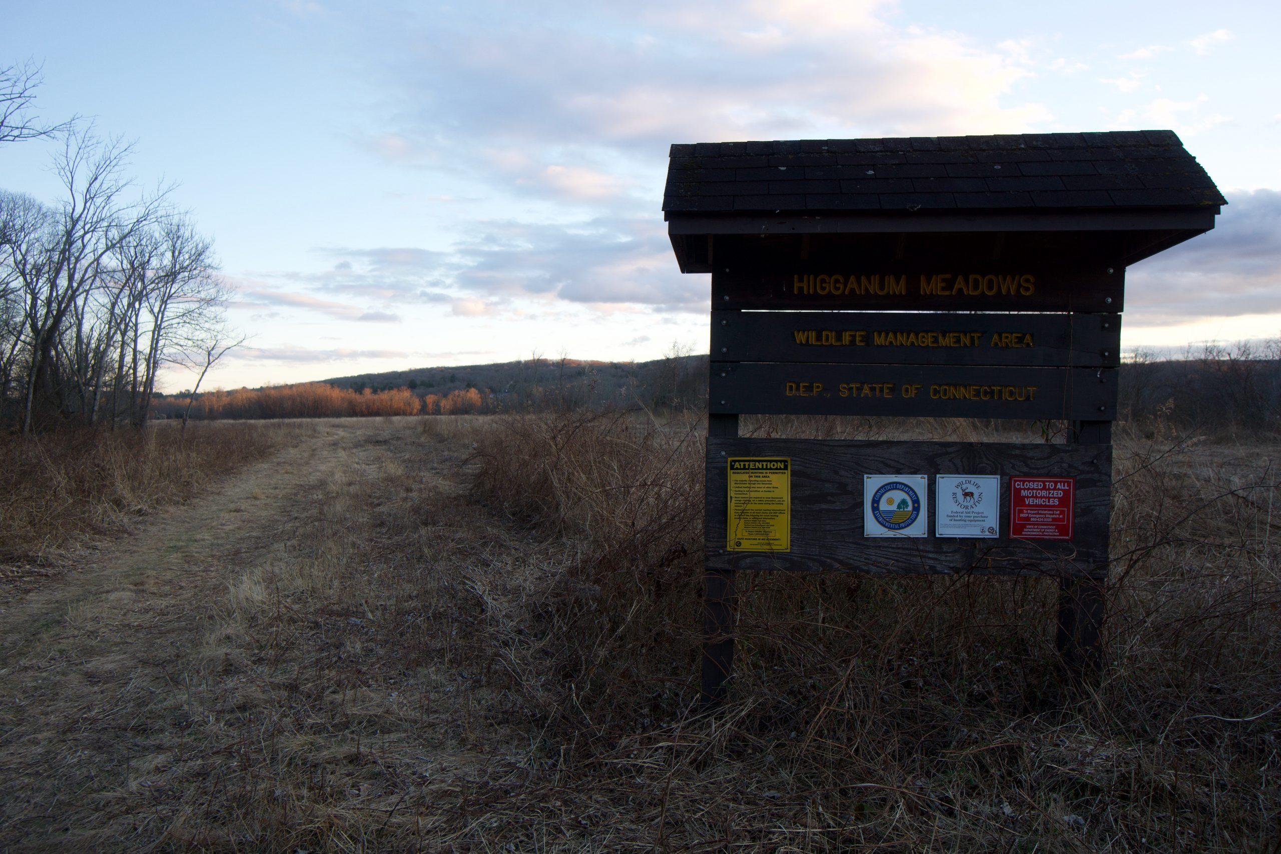 Higganum Meadows Trailhead