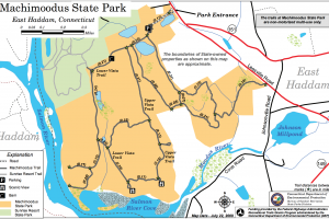 Machimoodus State Park Trail Map