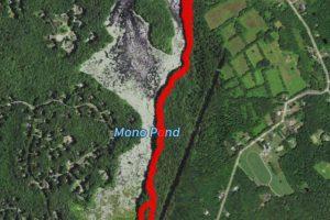 Mono Pond Trail Map