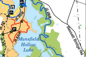 Nipmuck East Terminus Trail Map