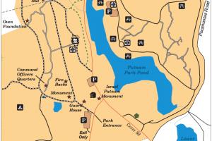 Putnam Memorial Park Map