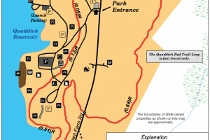 Quaddick State Park Map