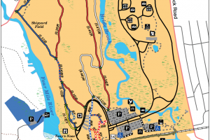 Rocky Neck State Park Trail Map