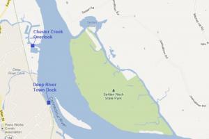 Selden Island Boat Launch Locations