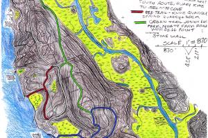 Selden Island Trail Map Paul Robertson
