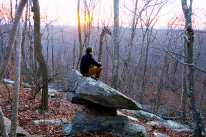 Balanced Rock at Smuggler's Rock