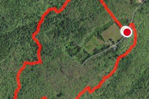 Burnham Brook Trail Map