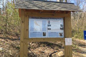 Davison Memorial Walking Park Trailhead
