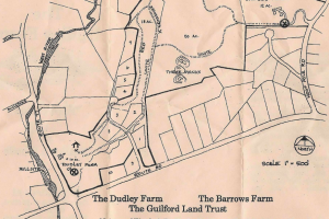 Dudley Barrows Woods Trail Map