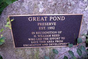 Great Pond Plaque