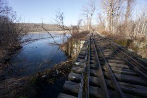 Hubbard Brook Train Tracks