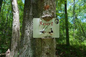 Lantern Hill Trail Sign
