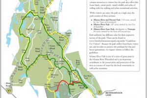 Mianus River Trail Map