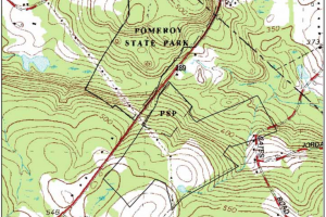 Pomeroy State Park Hunting Map