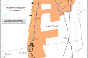 Talcott Mountain State Park Map