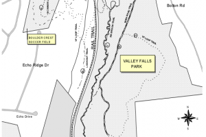 Valley Falls Park Trail Map