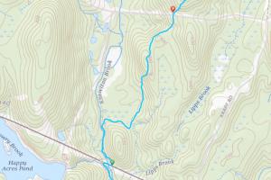 Natchaug State Forest West Ashford Block Trail Map