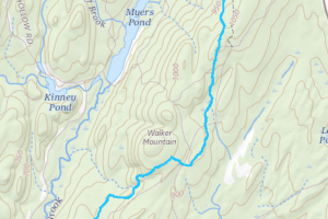 Nipmuck Walker Mountain Trail Map