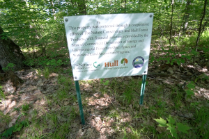 Walker Mountain Sign