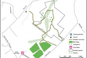 Whetten Woods Trail Map