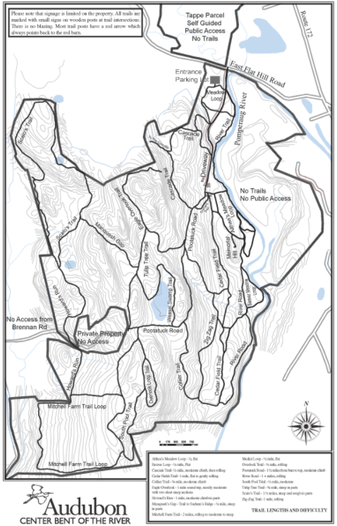 Bent of the River Trail Map
