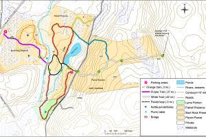 Chapal Farm Preserve Trail Map