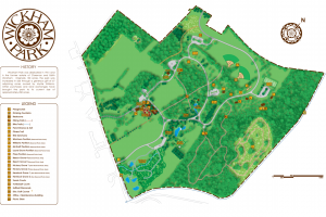 Wickham Park Map
