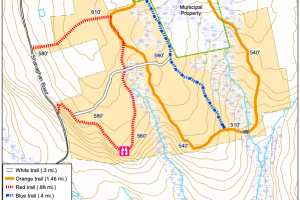 Captain George Comer State Park Trail Map