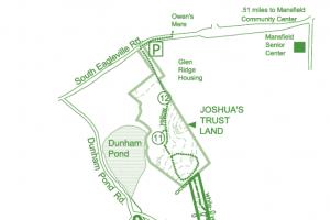 Dunham Woods Trail Map
