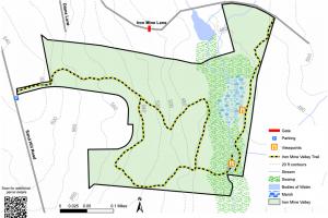 Iron Mine Valley Trail Map