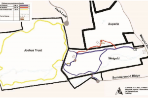 Weigold Trail Map