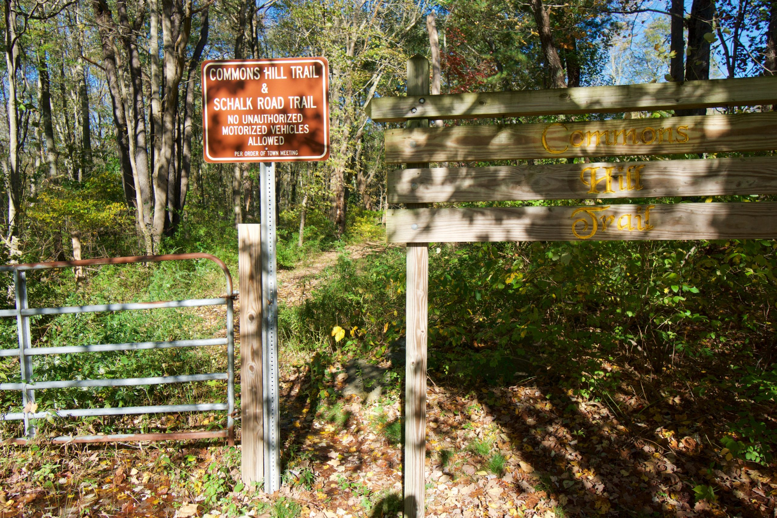 Commons Hill Trailhead