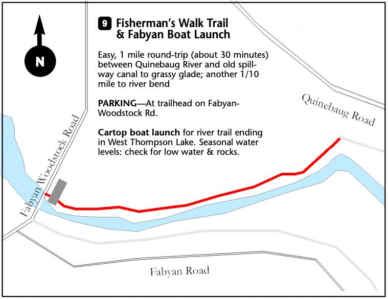 Fisherman's Walk Trail Map