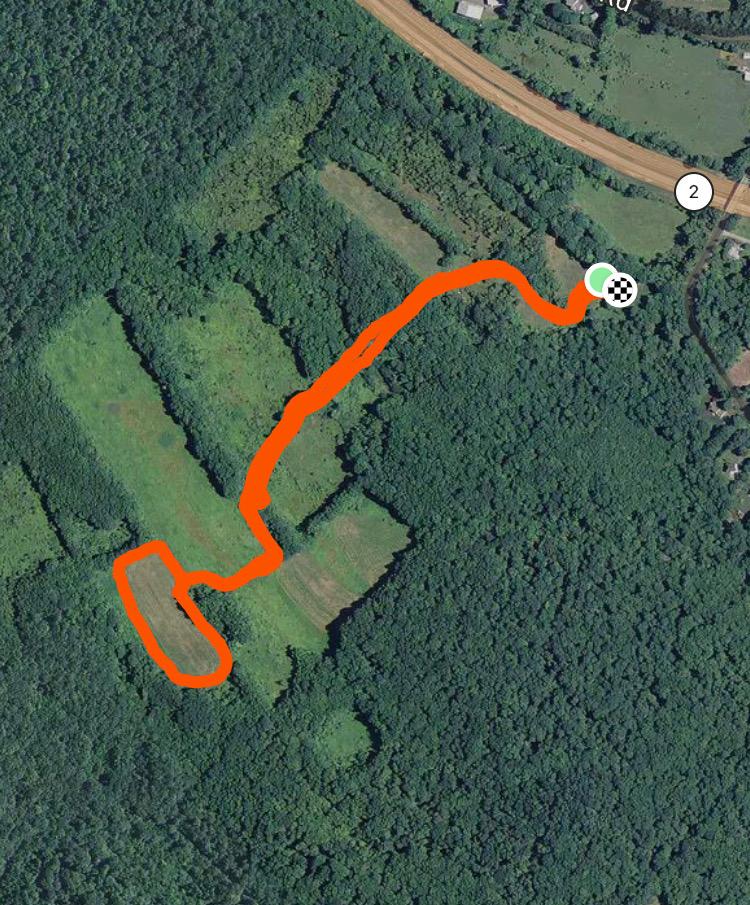 Meadow Brook WMA Trail Map